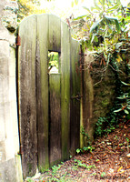 Garden Gate - Down Hidden Lane by the old stables