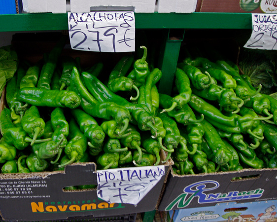 Madrid, SPAIN  Peppers - 8x10